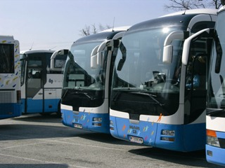rent a bus for coach transfers and sightseeing tours in Europe