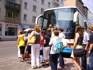 bus tour operator Europe travel agency